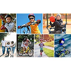 Guantes Bicicleta MTB BMX Ciclismo Montaña Carretera Fitness Gimnasio Bici Escalada Senderismo y Otros Deportes Guantes Deportivos Sin Dedos para Mujer y Hombre (JR S ~ 6,5-7cm, Hearts)