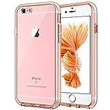 JETech Funda para iPhone 6s y iPhone 6, Carcasa Anti-Choques y Anti-Arañazos, Oro Rosa