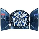 Best Sporting Cible électronique de fléchettes avec Chiffres Lumineux LED, 6 fléchettes avec Bloc d'alimentation