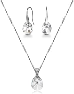 Mestige Pascal Jewelry Set, 2 Pieces - MSSE3282,Silver