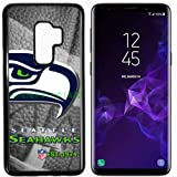 Seahawks Seat. Football New Black Samsung Galaxy S9 Case by Mr Case