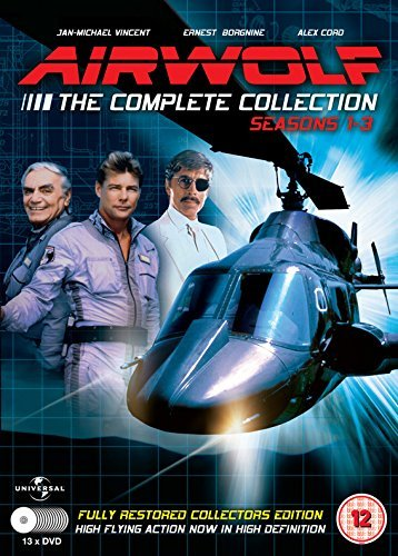 Airwolf - Seasons 1-3 (13 DVDs)