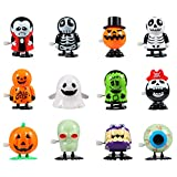 Twister.CK Halloween Pumpkin Ghost Skull Wind Up Toys, Divertidos...