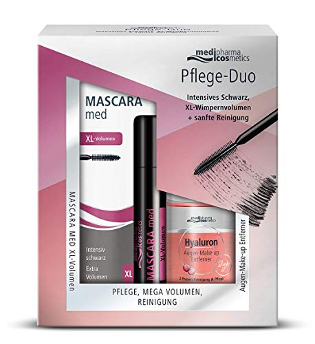 Mascara MED Pflege-Duo XL-Vol+Hyal.Aug.Makeup.Entf, 130 g 15877358