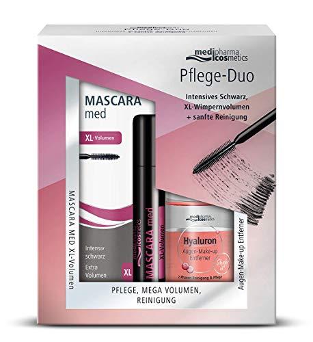 Mascara MED Pflege-Duo XL-Vol+Hyal.Aug.Makeup.Entf, 130 g