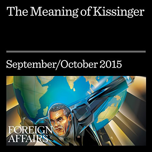 The Meaning of Kissinger cover art