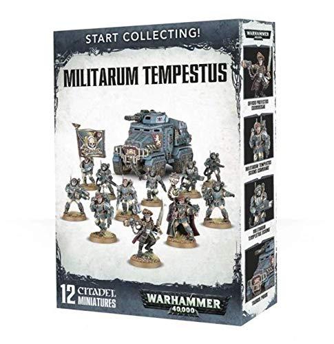 Games Workshop Warhammer 40,000 Start Collecting! Militarum Tempestus Miniatures