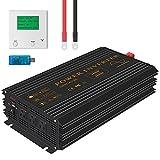 OSXCAUES Inversor de Potencia 3000 W (Pico de 6000 W) 24V DC a 110/120 V CA Onda Sinusoidal Pura Convertidor