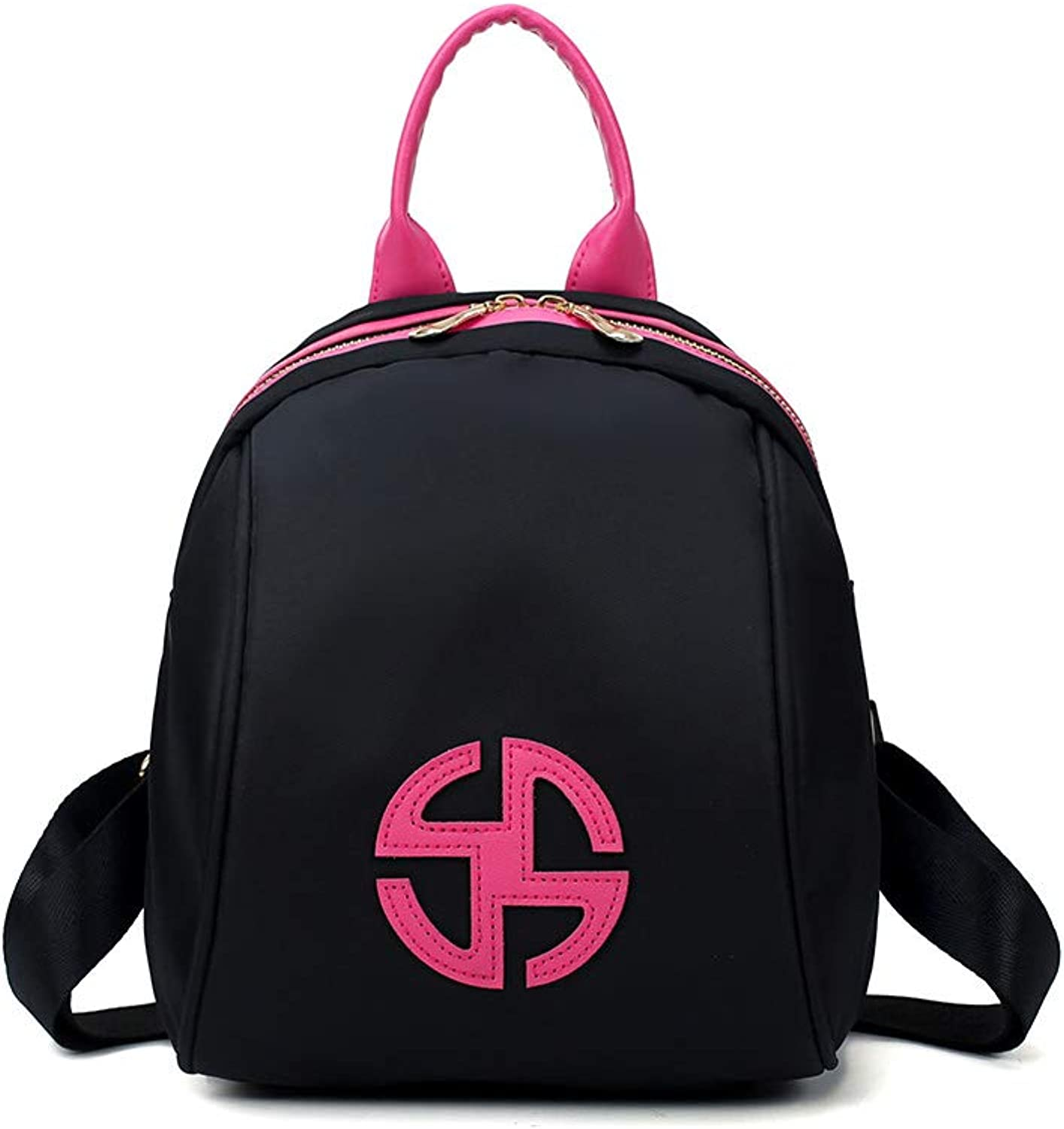 ZHICHUANG The Girl's Versatile Backpack is Perfect for Everyday Travel, Outdoor, Travel, School, Work, Fashion and Leisure. Black blueee. for Women & Men