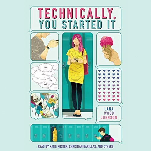 Technically, You Started It audiobook cover art