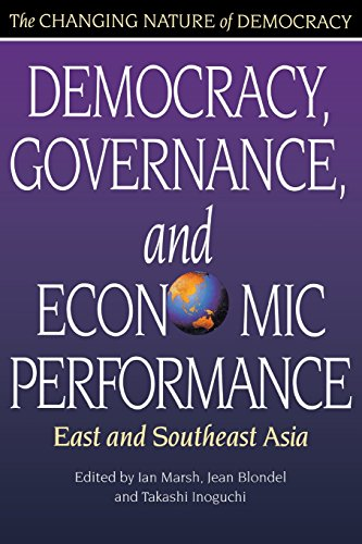 Democracy, Governance, and Economic Performance: East and...