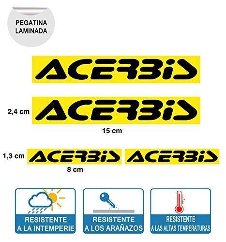 Sticker compatibel met Acerbis folie digitale druk (4 eenheden)