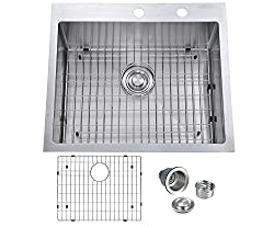 Best 16 Gauge Drop in Stainless Steel Kitchen Sink
