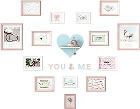 Xinxinchaoshi معرض الصور مجموعة جدار الصور الإبداعية صورة جدار ديكور غرفة تصميم الحب إطار جدار غرفة نوم جدار مزيج ألبوم صو...