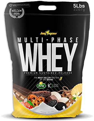 Big Man Multiphase Whey - 2,3 kg Cookies and Cream