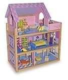 Legler Puppenhaus Puppenstube Haus Rosa