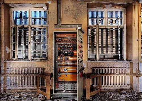 Haus Räumlichkeiten Fenster Batterie Elektrische Schild Müll Ruine Steckdose Kabel Knöpfe Gebrochen 1000 Puzzle Kinder Pädagogische Spielzeug Puzzle Erwachsenen Dekompression Puzzle
