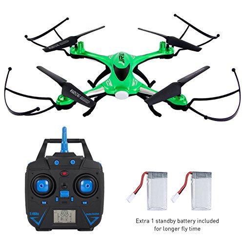 SGILE 2.4 GHZ 4CH 4-AXIS RC Quadcopter Gyro Drone Droni Radiocomandati Quadricottero con Modalità di 360 Rotante Headless Modalità di Altitudine Verde
