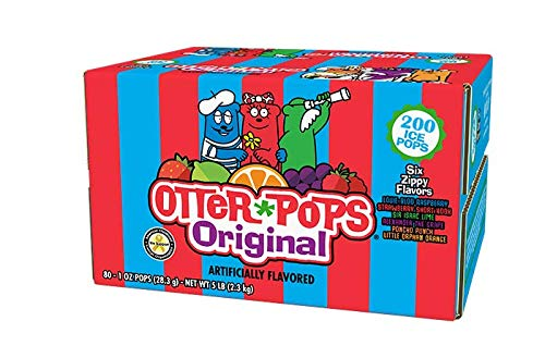 Otter Pops 200 Count Case Made with Real...