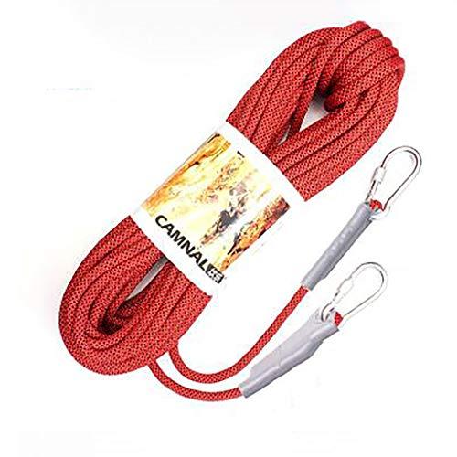 LXYFMS - Cuerda de elevación para Escalada (Resistente al Desgaste), Color Opcional