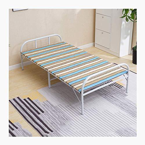 haozai extra logeerbed Folding Office Nap Bed lunchpauze stoel voor binnen kantoor balkon terras tuin strand buiten (grootte: 75/80/90/100/120 cm) 0304