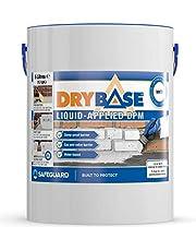 Drybase Liquid Damp Proof Membrane (5L) - Liquid DPM Damp Proofing Paint (White)