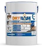 Drybase 5 litres White Liquid Damp Proof Membrane - Liquid DPM Damp Proofing Paint