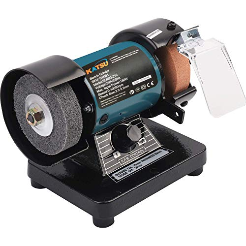3' 70MM Multi-Function Electric Bench Grinder Polisher Drilling W/Shaft 100081