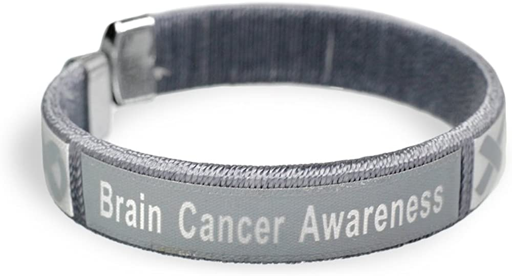 Ranking TOP20 Fundraising For A Cause 25 Pack Awareness Cancer Br Brain Bangle Special Campaign
