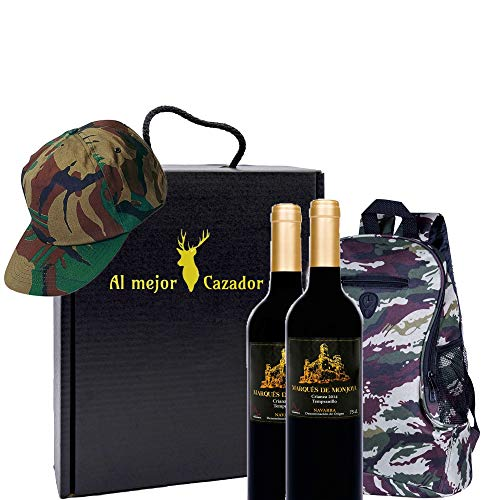 Caja Regalo Vino - Pack de 2 Botellas de Crianza