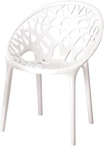 Nilkamal Crystal Chair (Milky White) product image