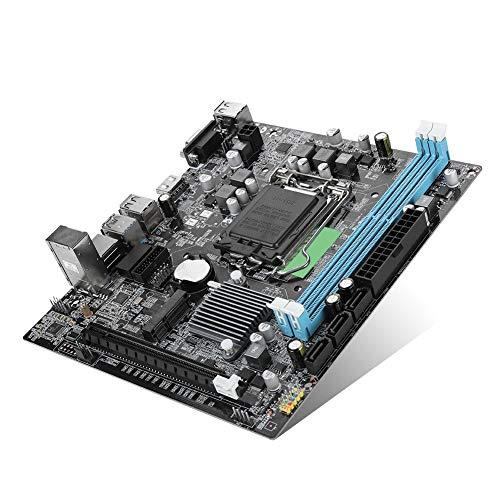 Placa base Socket 1151, DDR3 USB3.0 Interfaz innovadora M-SATA Chip de...