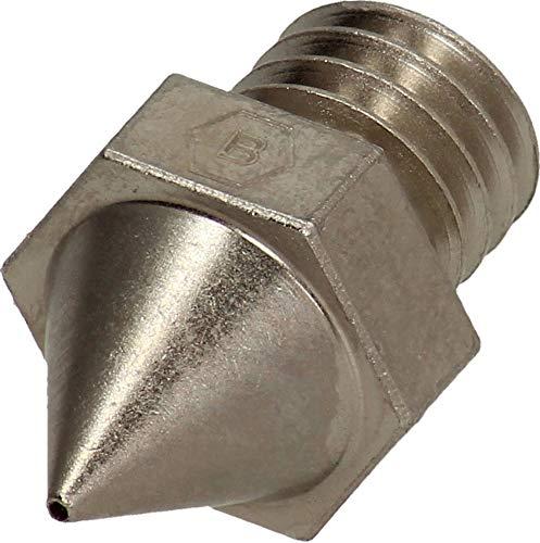 BROZZL Raise3D Pro2 Nozzle Plated Copper 0.6 mm Diameter for 3D Printers
