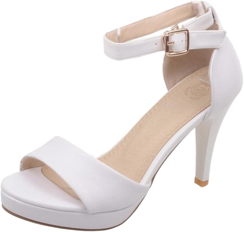 FizaiZifai Women Summer Open Toe Sandals Strappy