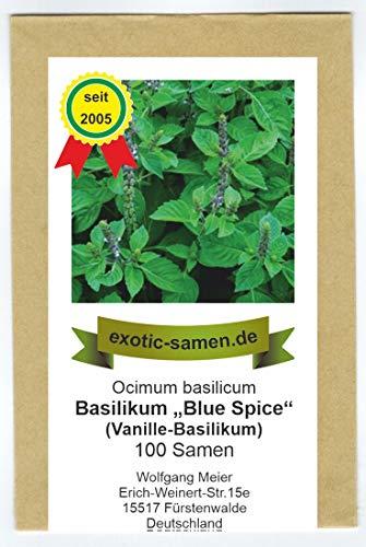 Ocimum basilicum Vanille Basilikum