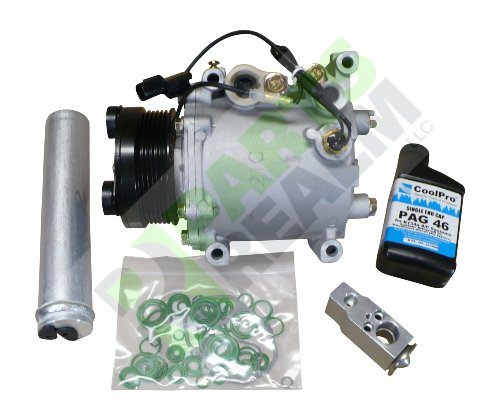 Parts Realm CO-0160AK Complete A/C AC Compressor Replacement Kit