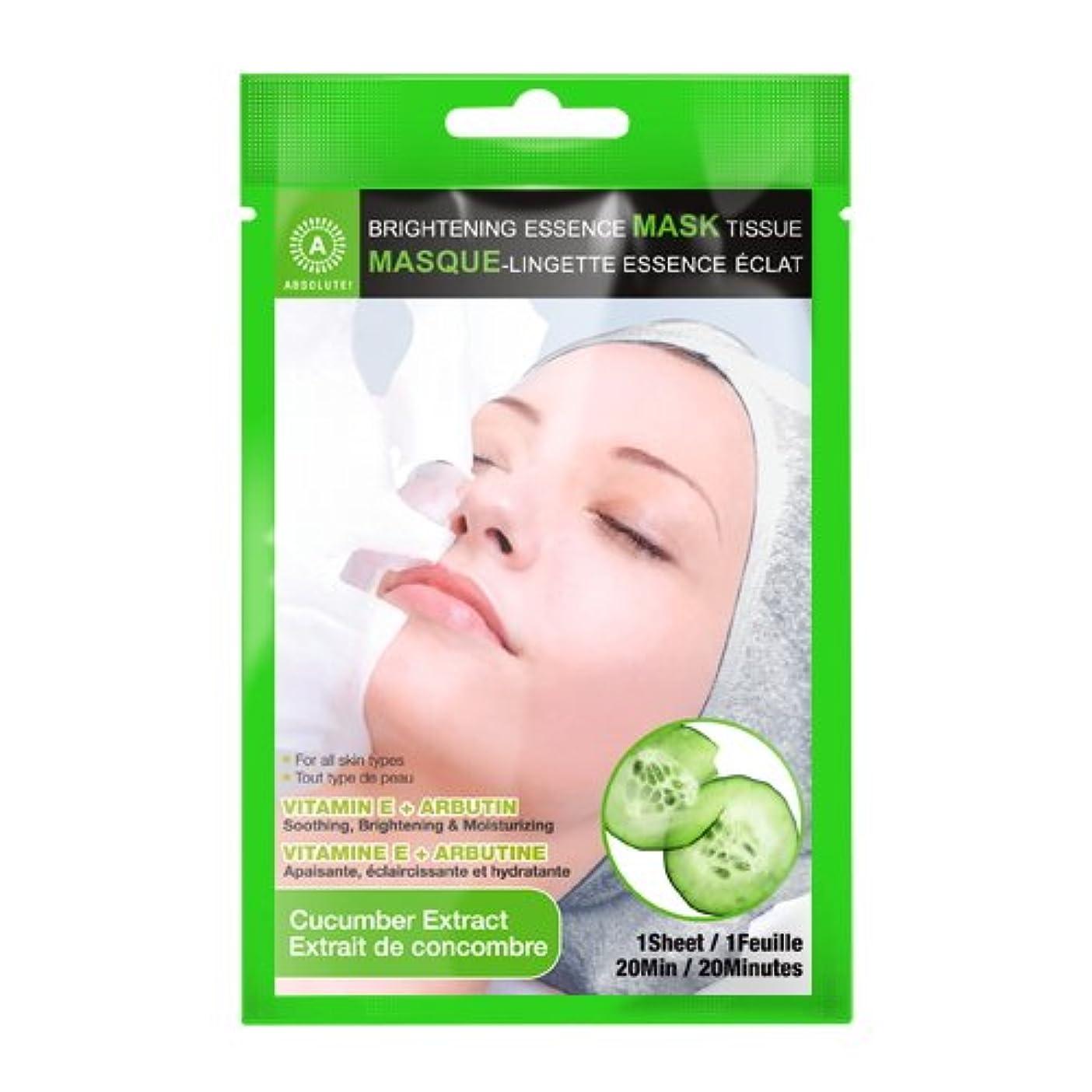 アナロジーブランクボトルネック(6 Pack) ABSOLUTE Brightening Essence Mask - Cucumber (並行輸入品)