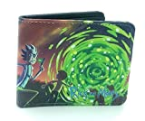 Cartera Rick & Morty, Cartera del Espacio Exterior, Cartera Unisex.