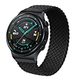 RIOROO 22mm Correa Compatible para Garmin Vívoactive 4 Correas, Pulsera Compatible para Huawei Watch GT 2 (46 mm)/Galaxy Watch 3...