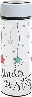 水筒 星 可愛い 真空断熱 500 ml ステンレスボトル 保冷保温 軽量 直飲み コップ 便利 大人用 学生用 通勤 通学 学生 旅行 プレゼント 手軽