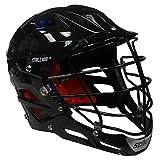 STX Stallion 575 Adult Lacrosse Helmet (Black, Small)