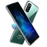 Smartphone Tagesangebot, 6 GB RAM 64 GB ROM, 6,52 Zoll Full Screen, Android 10 Octa Core Handy, Akku 4500 mAh, 16 MP + 8 MP, 4 G Dual SIM Face & Fingerprint Unlock Mobiltelefone (grün)