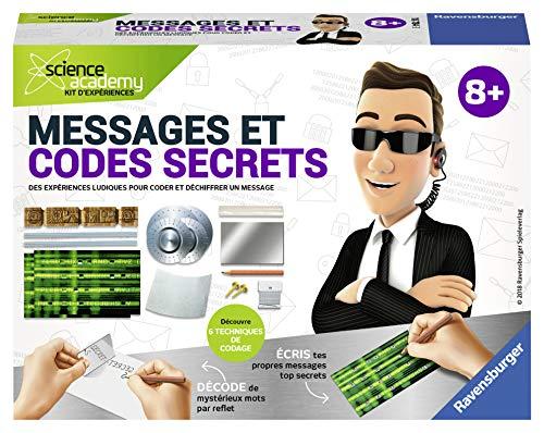 Ravensburger - 18784 - Messages et codes secrets Mini - Jeux scientifiques
