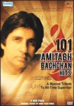 101 Amitabh Bachchan Hits - A Musical Tribute To All Time Superstar Pack / Original Videos Of Hindi Film Songs / 101 Music Videos Of Amitabh Bachchan Hits Valentine's Day ROMANTIC