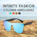 Occhiali da Sole Colorati Infinity Fashion Vintage Mirror Polarized Occhiali da Sole Glass...