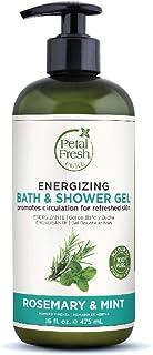 PETAL FRESH Energizing Bath & Shower Gel, 475ml, Rosemary & Mint