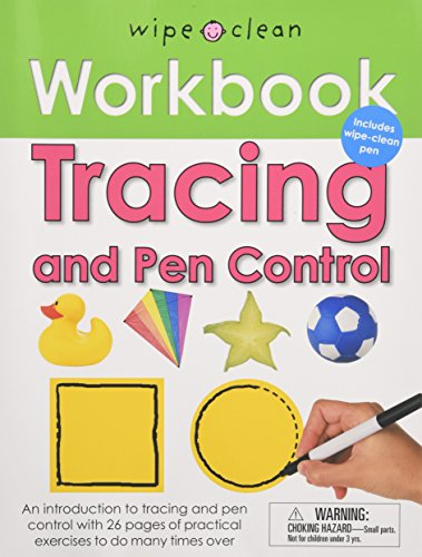 Wipe Clean Workbook Tracing and Pen Control: Includes Wipe-Clean Pen (Wipe Clean Learning Books)