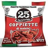 25 The Italian Jerky - Tradizionale - confezione da 10 x 25 gr