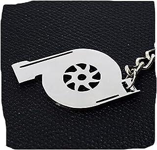 ميدالية مفاتيح سيارة تربو من الفولاذ المقاوم للصدأ