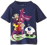 Paul Frank Little Boys' Toddler Big Bully T-Shirt, Navy, 2T